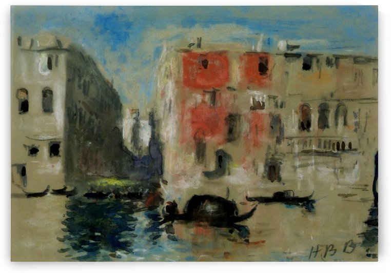 Canal in Venice by Federico Del Campo