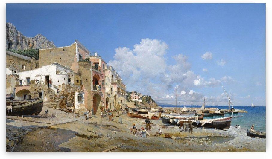 Italian coast by Federico Del Campo