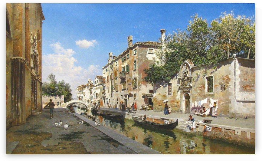 Canale San Giuseppe, Venezia by Federico Del Campo