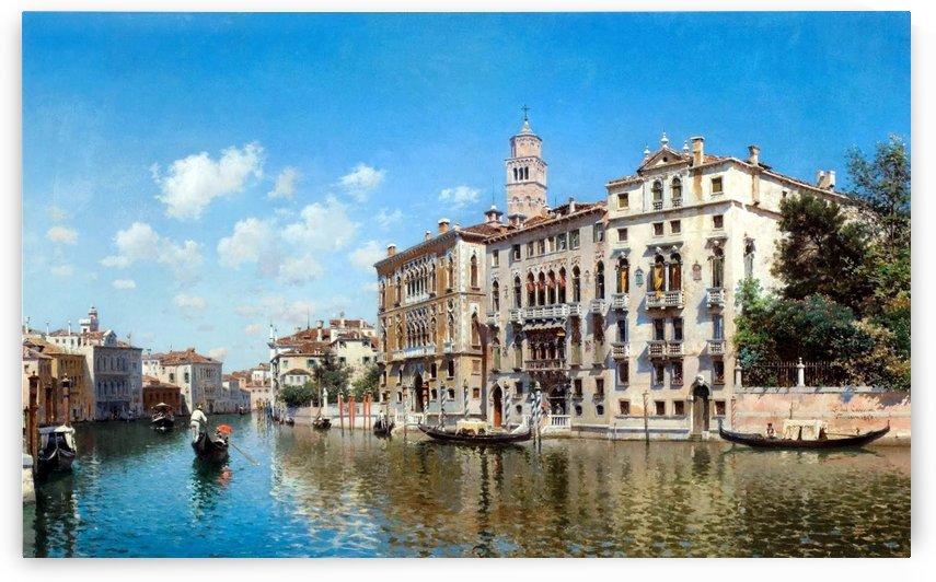 Palazo Cavalli-Franchetti, Venezia by Federico Del Campo