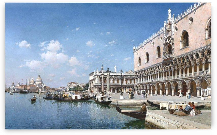 Grand Canal, Venice by Federico Del Campo