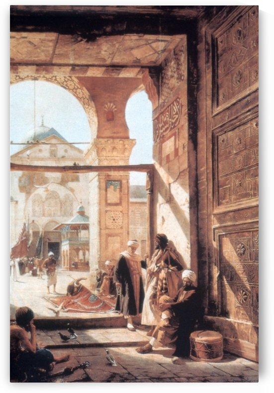 Umayyad Mosque by Gustav Bauernfeind