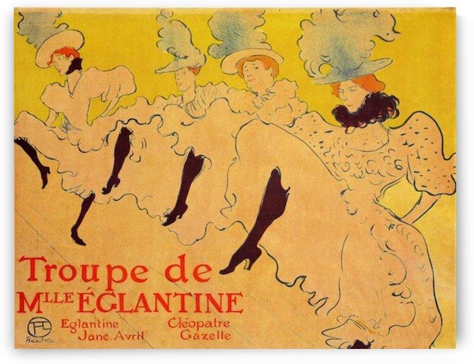 Mlles Eglantines 2 by Toulouse-Lautrec by Toulouse-Lautrec