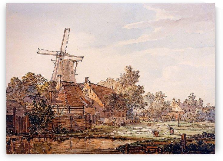 View on Bleechingground in Vriesepoort by Jacob van Strij