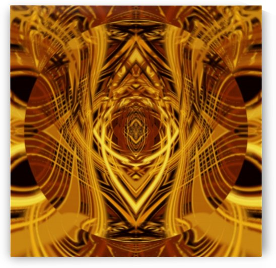 Golden Flame of Eternity ablaze by Jaycrave Designs