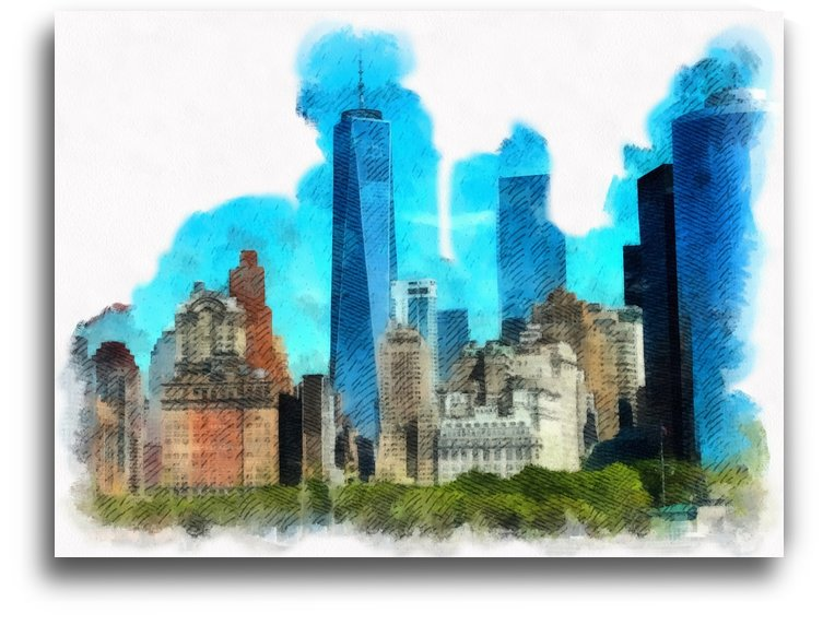 Manhatten by Irene Ragoss