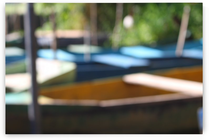 Boat - XCII by Carlos Wood
