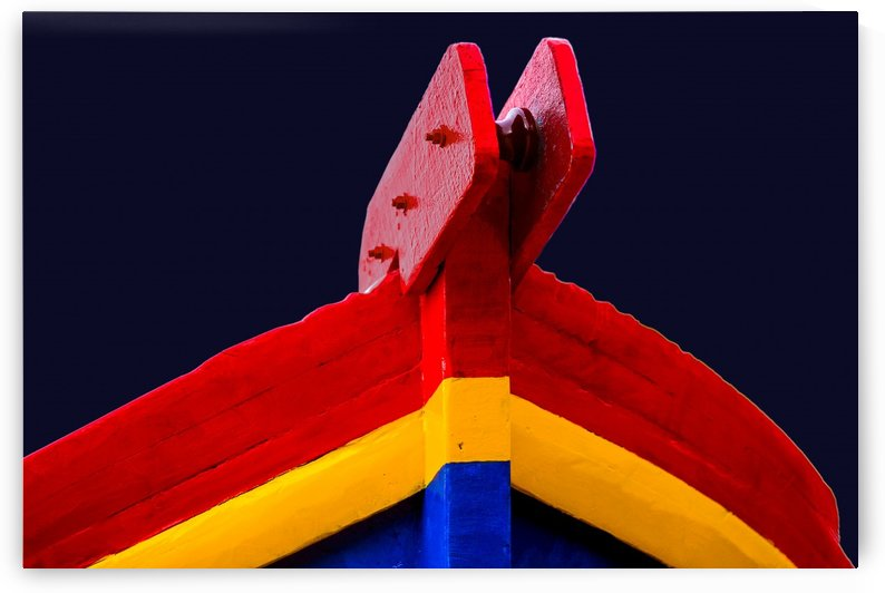 Boat - XCVI by Carlos Wood