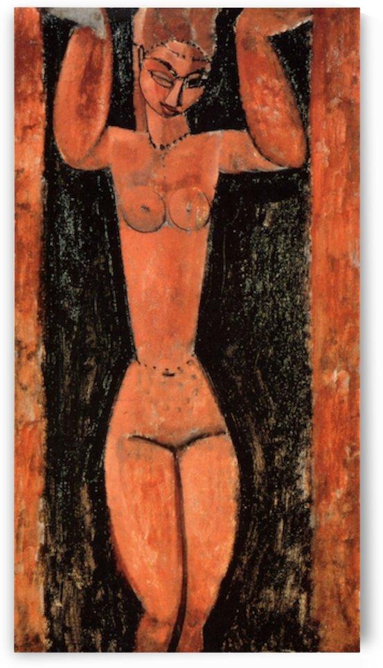 Modigliani - Caryatid -3- by Modigliani