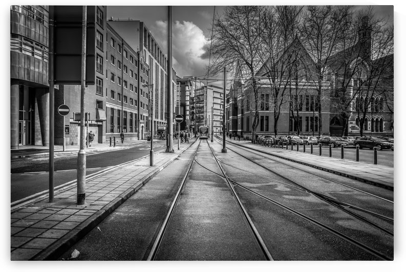 Tram Manchester City by Artsy Lens Uk