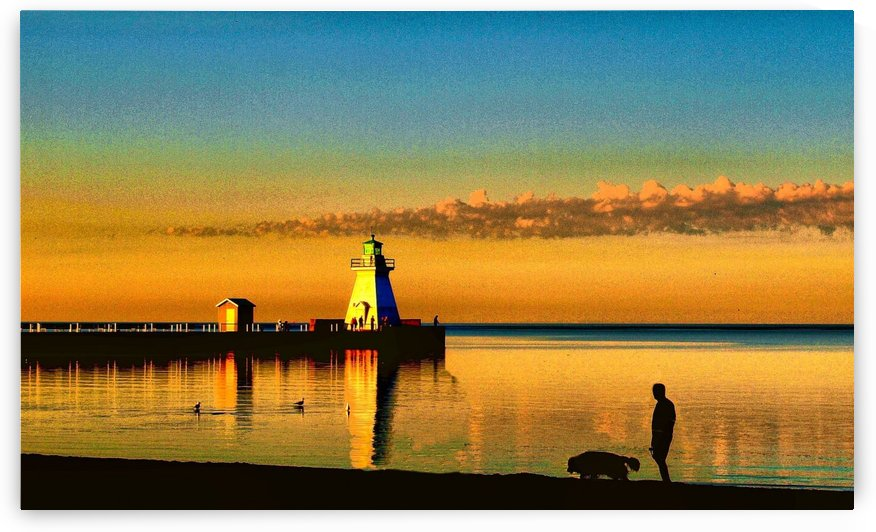 Sunrise in Port Dover - Canada by Flodor