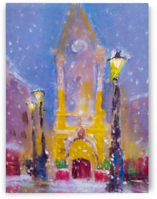 Penrith Clock Tower Winter 2015 by Beth Walker