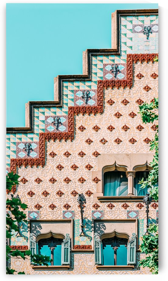 Casa Amatller Barcelona Print Modernisme Architecture Building Downtown Barcelona City Travel by Radu Bercan