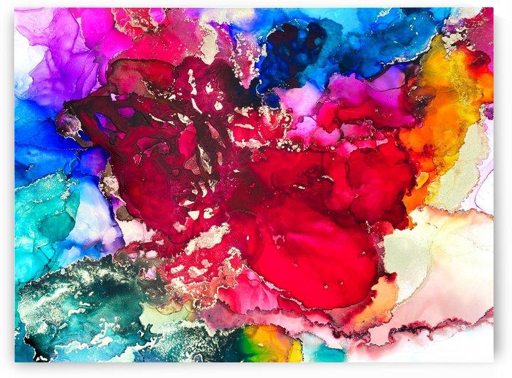 unfolding pieces  by Artist Sarah Long