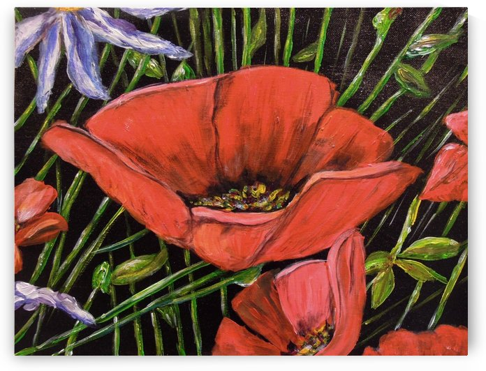 Folding Poppy by Ginny Wilkie