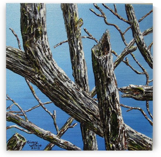 Branches 12 squared 1 by Ginny Wilkie