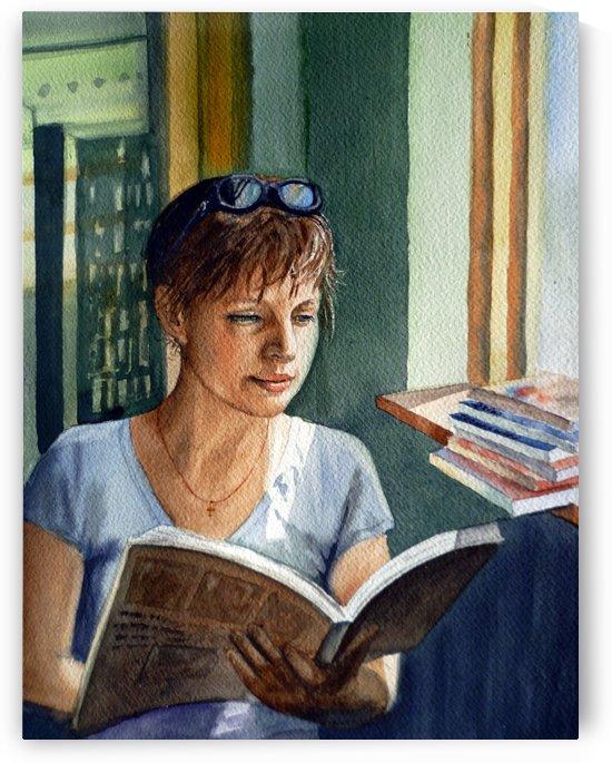 Love To Read  by Irina Sztukowski