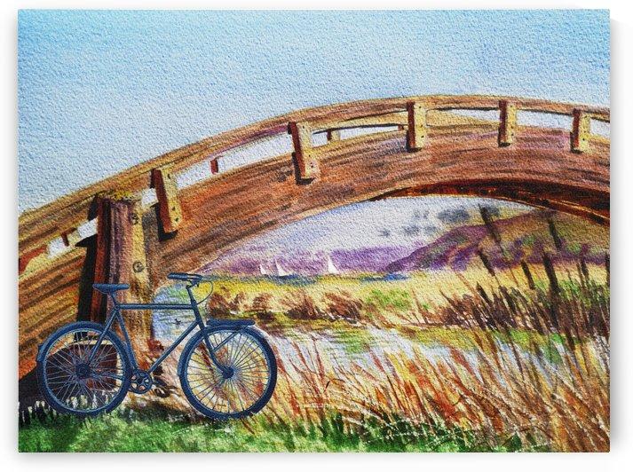 Bicycle Bridge Marina  by Irina Sztukowski