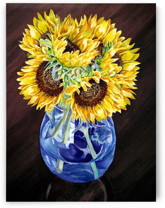 A Bunch Of Sunflowers by Irina Sztukowski