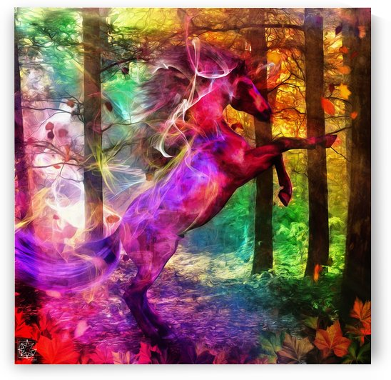 Wild Color Version by ChrisHarrisArt