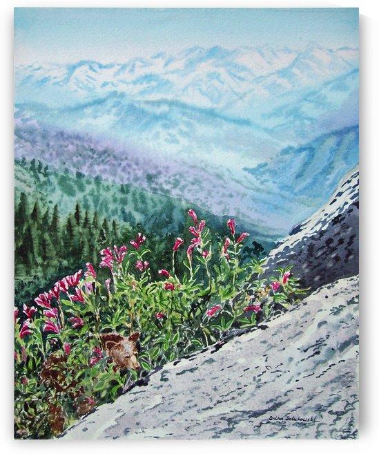 Mountains Of Sequoia  by Irina Sztukowski