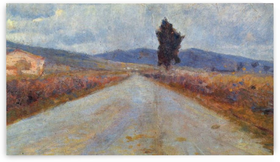 Modigliani - Landscape in the Toscana by Modigliani