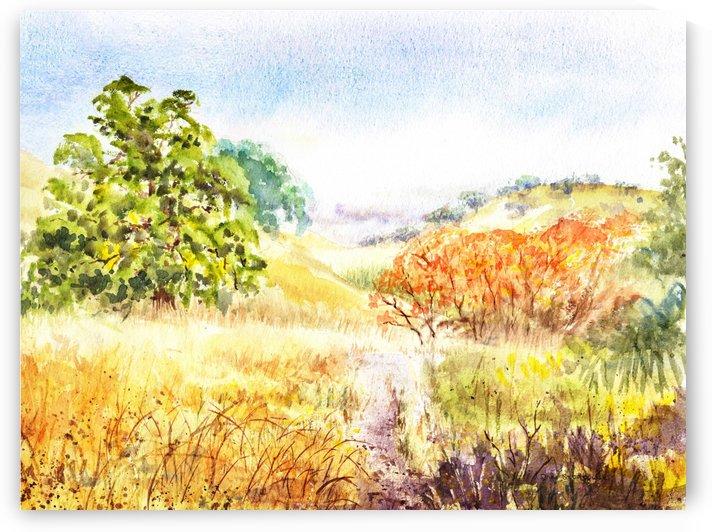 Fall Landscape by Irina Sztukowski