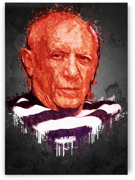 Pablo Picasso. by Gunawan Rb