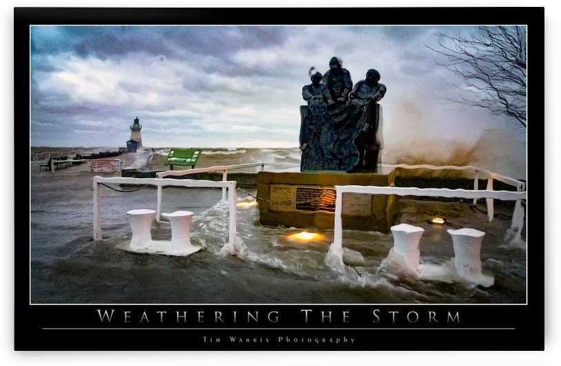 Weathering the Storm by Tim Warris Photography