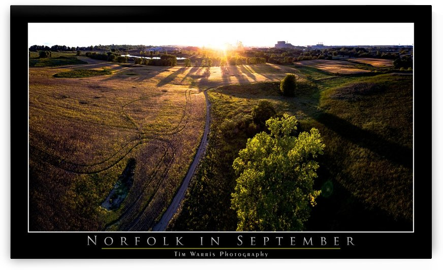 Norfolk County Sunset by Tim Warris Photography