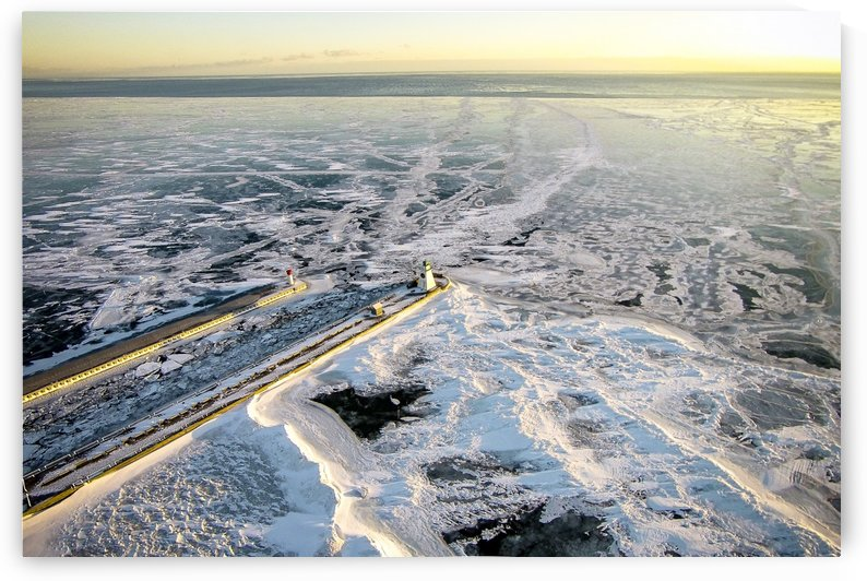Frozen Dover by Tim Warris Photography