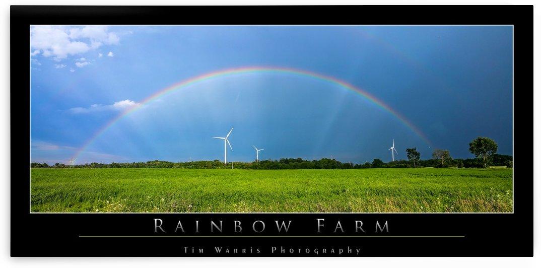 Rainbow Windfarm by Tim Warris Photography