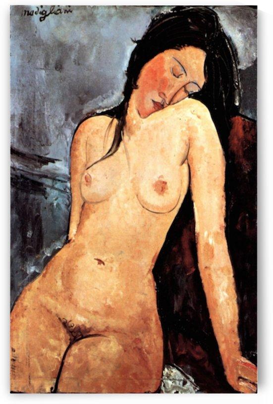 Modigliani - Nude female by Modigliani