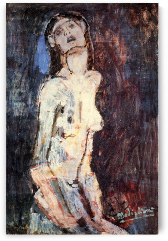 Modigliani - Nude, Nudo Dolente by Modigliani