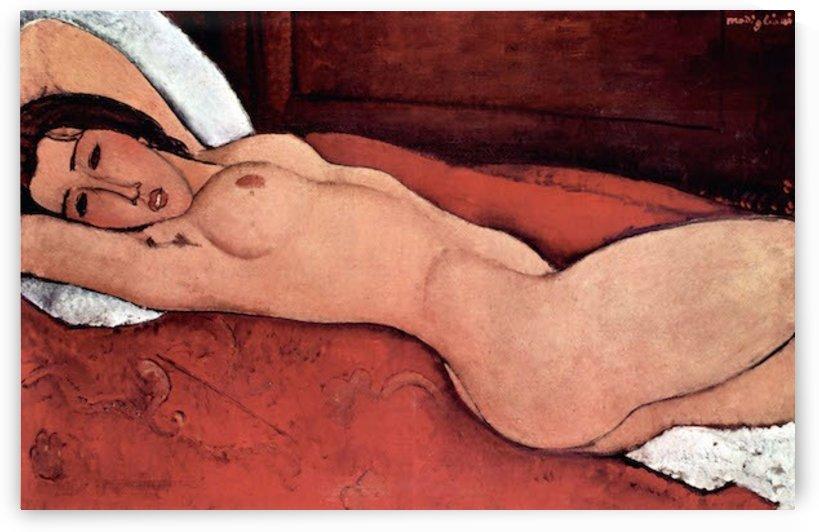 Modigliani - Nude by Modigliani