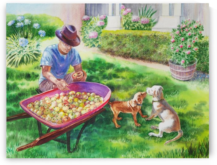 Apples Harvest by Irina Sztukowski