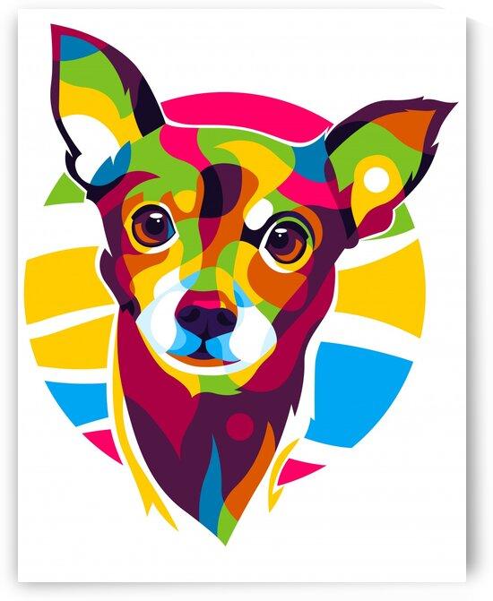 Little Puppy Dog Portrait by wpaprint