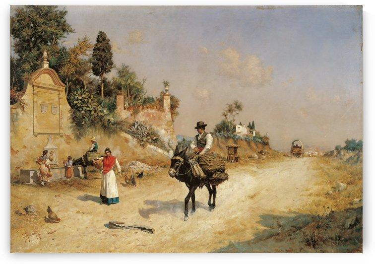 Sevilla, 1837 by Jose Jimenez Aranda