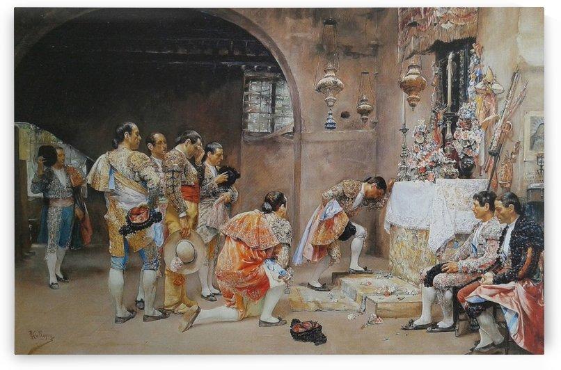 La suplica de los toreros by Jose Jimenez Aranda