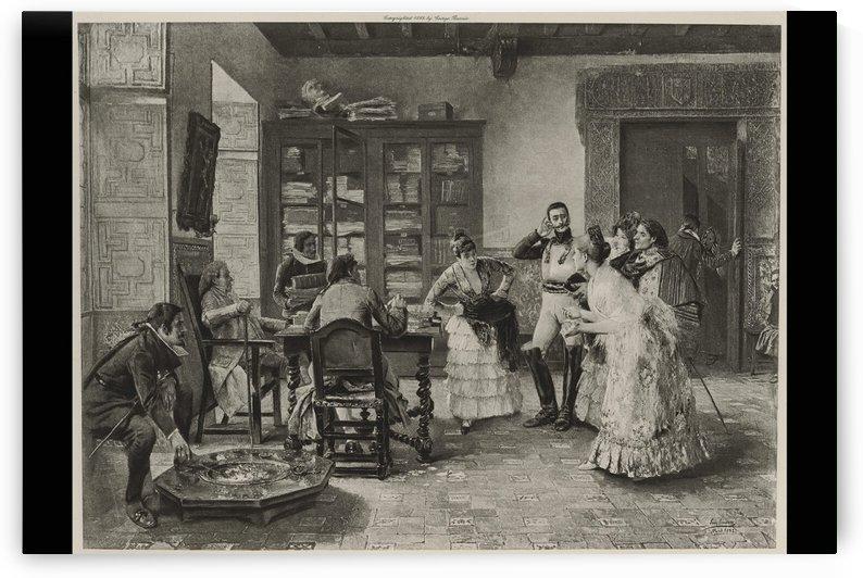 Los Enamarados (Black and white) by Luis Jimenez Aranda