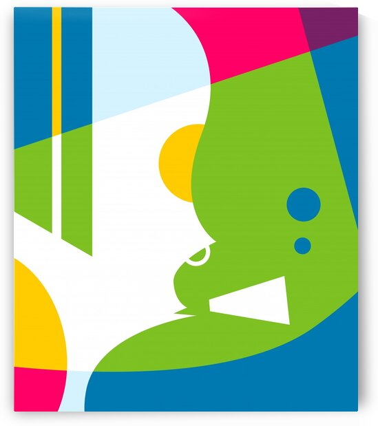 Smoking Abstract Illustration by wpaprint