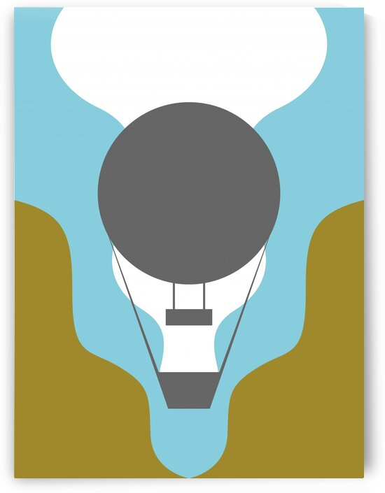 The Air Baloon by wpaprint