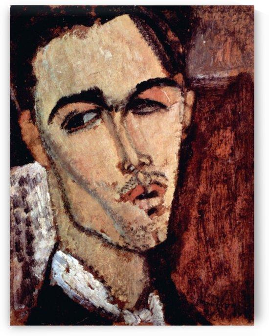 Modigliani - Portrait of Celso Laga by Modigliani