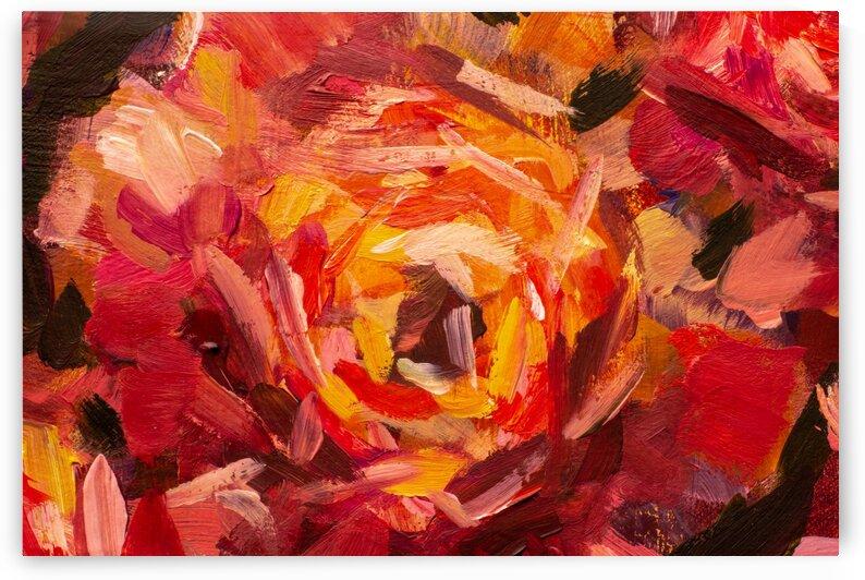 Painted flowers by MorfArtStudio