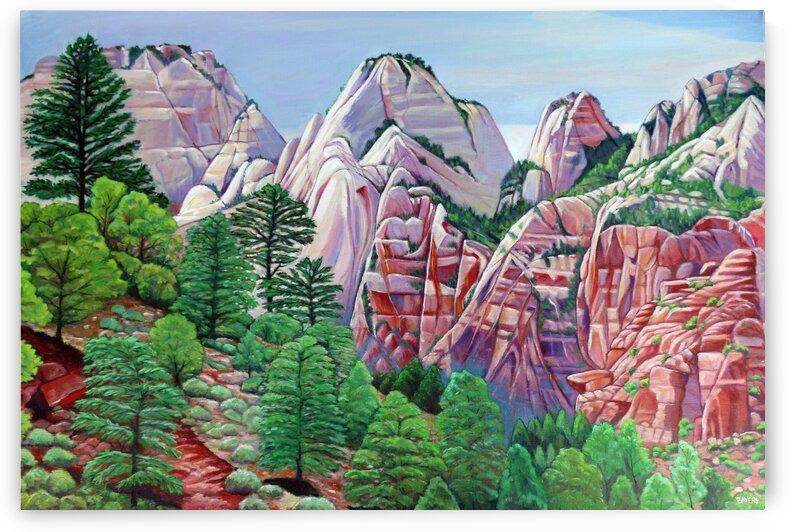Utah Mountain Range by Rick Bayers