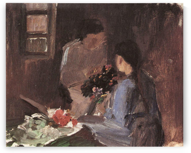 Flower arrangement by Anna Ancher by Anna Ancher