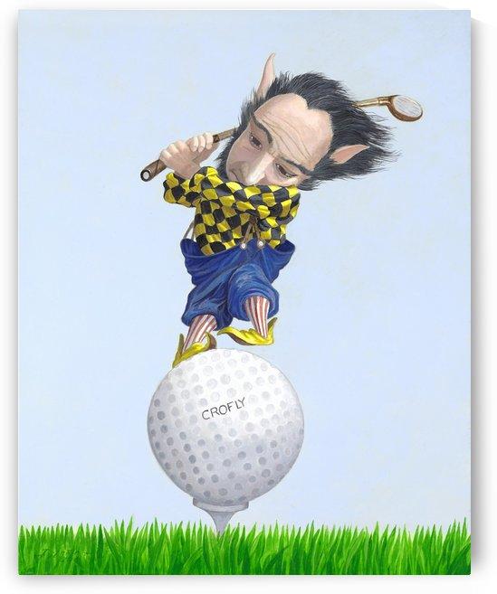The Golfer by Leonard Filgate
