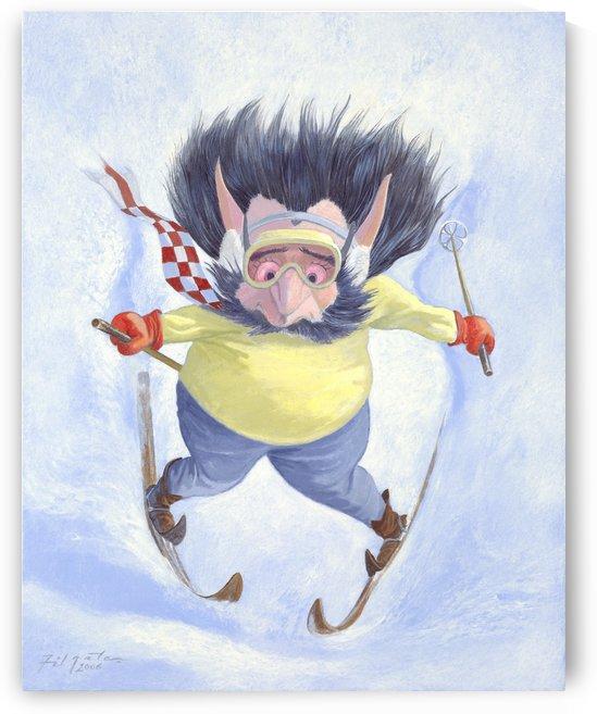 The Skier by Leonard Filgate