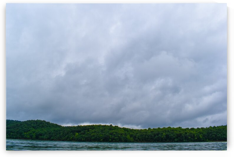 Cloudy day at the lake by Tyler Smith