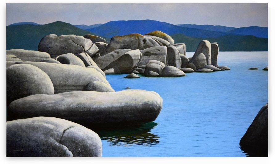 Lake Tahoe Rocky Cove by Frank Wilson